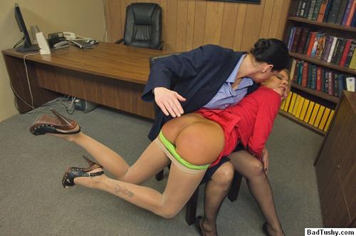 bad tushy spanking tube