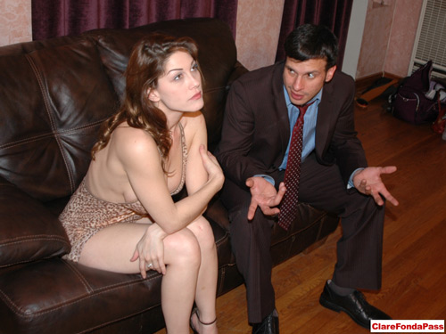 Femdom Kay Richards in spanking Anthony photos