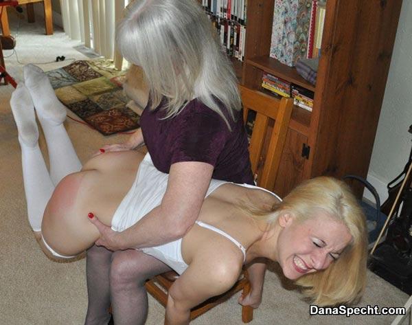 mom spank girl naked