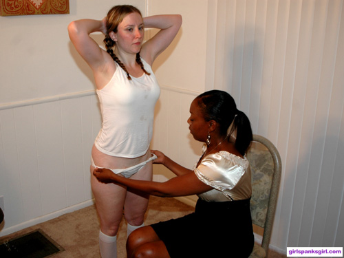 Desiree's Back to School spanking