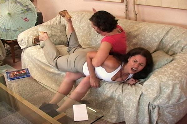 Sinn Sage gets revenge when she takes Chelsea Pfeiffer over her knee