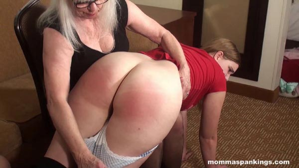 Big butt spanked alluring bet