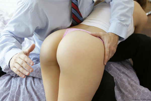 naked girl spanked and fucked