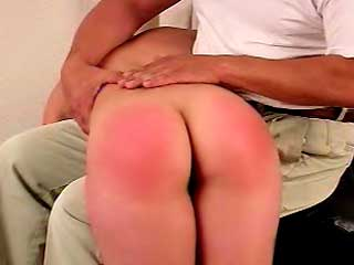 Spank her red bottom foto 192