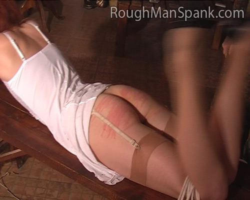 Rough man spank tube
