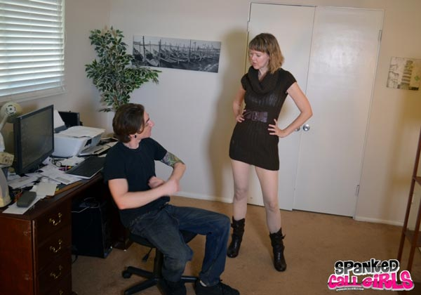 Kade meets madam Clare Fonda in her office
