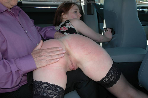 Suggest Spank in car with you